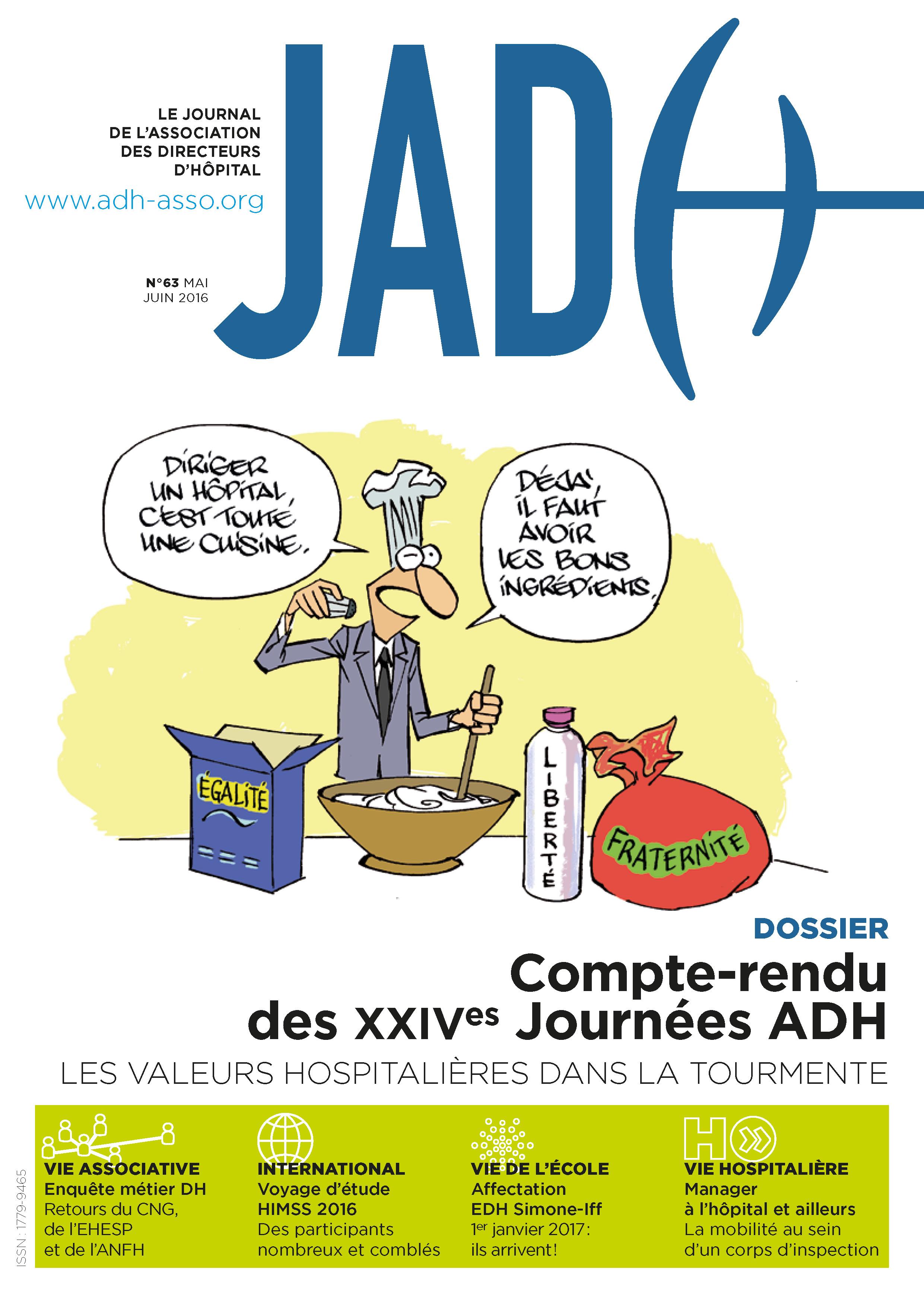 JADH 63 – mai/juin 2016