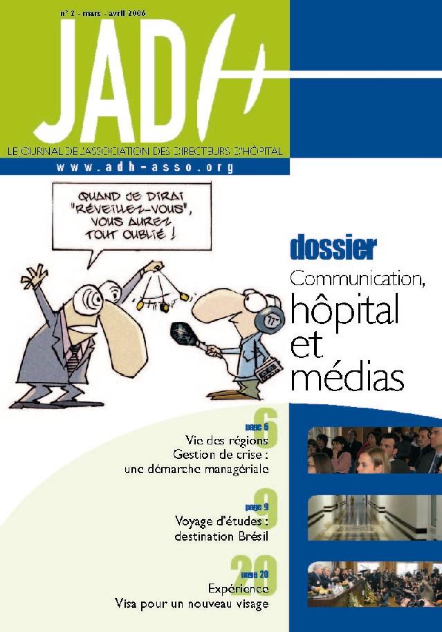 JADH 2 – mars/avril 2006