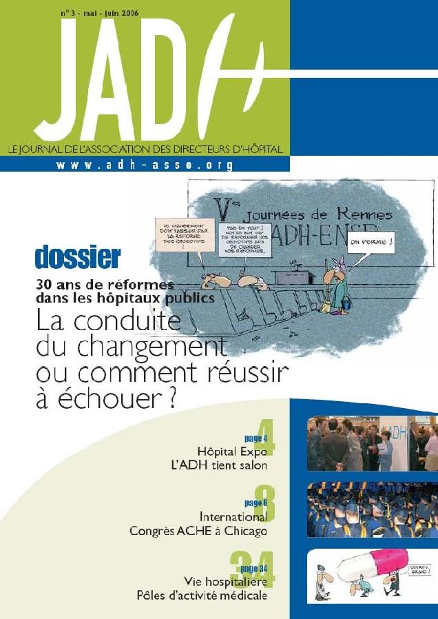 JADH 3 – mai/juin 2006