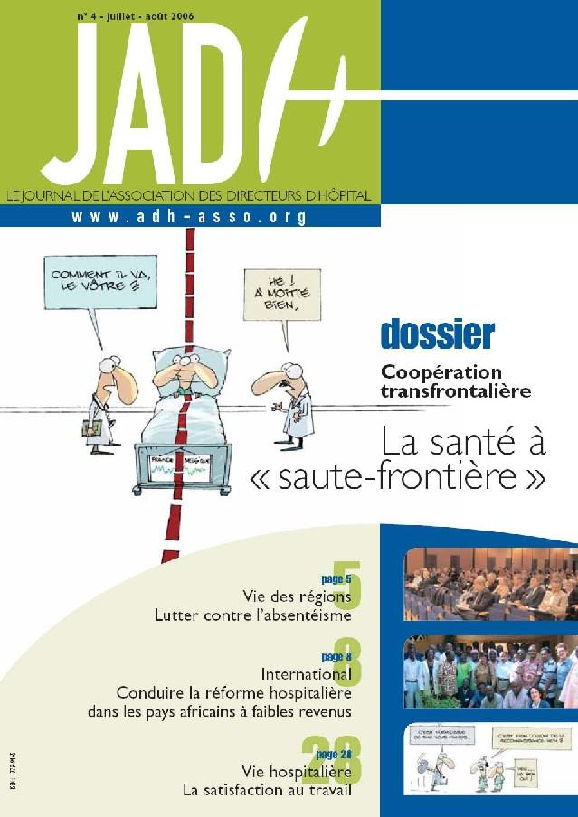JADH 4 – juillet/août 2006