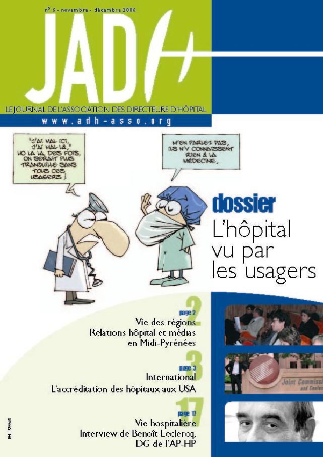 JADH 6 – novembre/décembre 2006