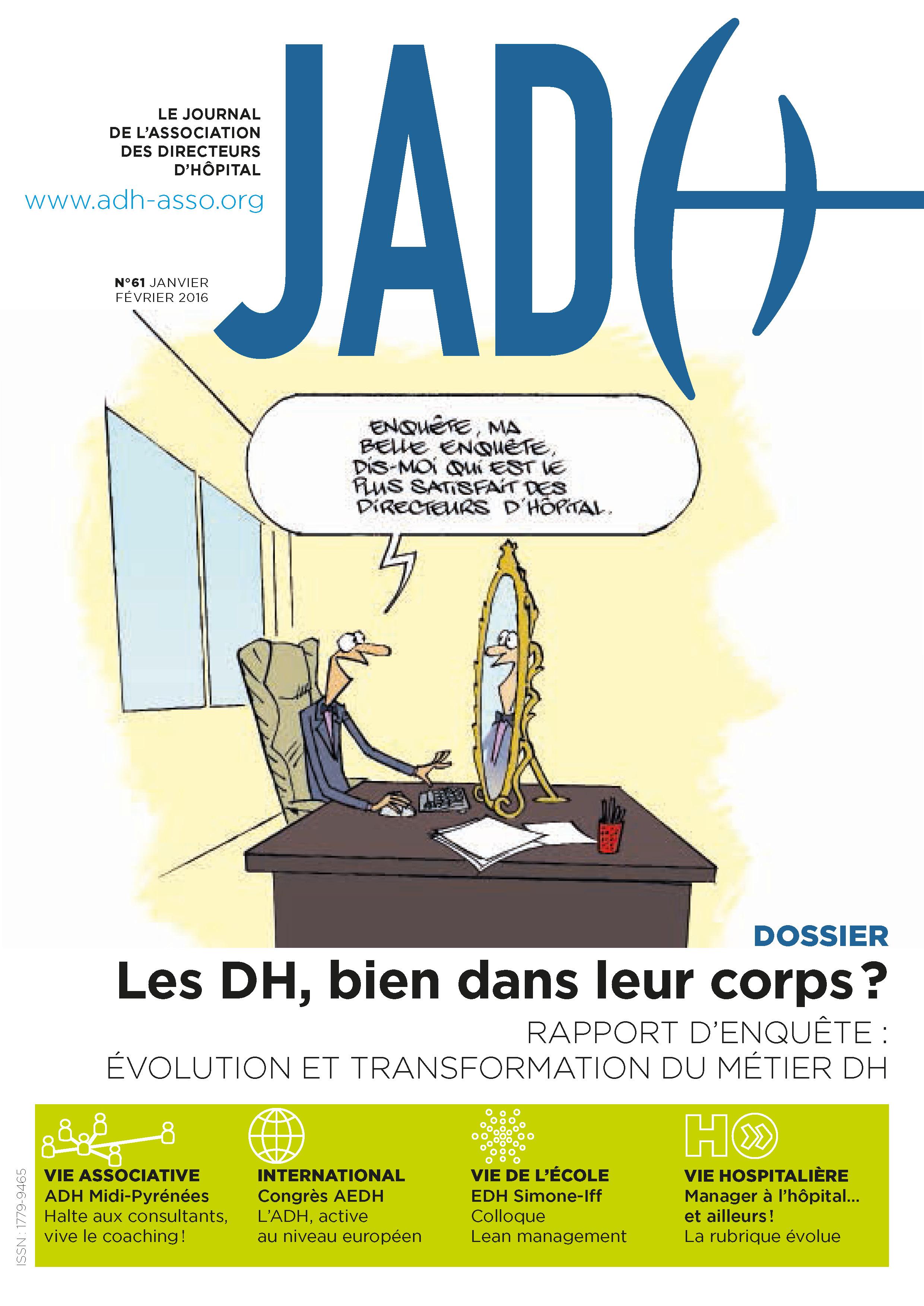 JADH 61 – janvier/février 2016