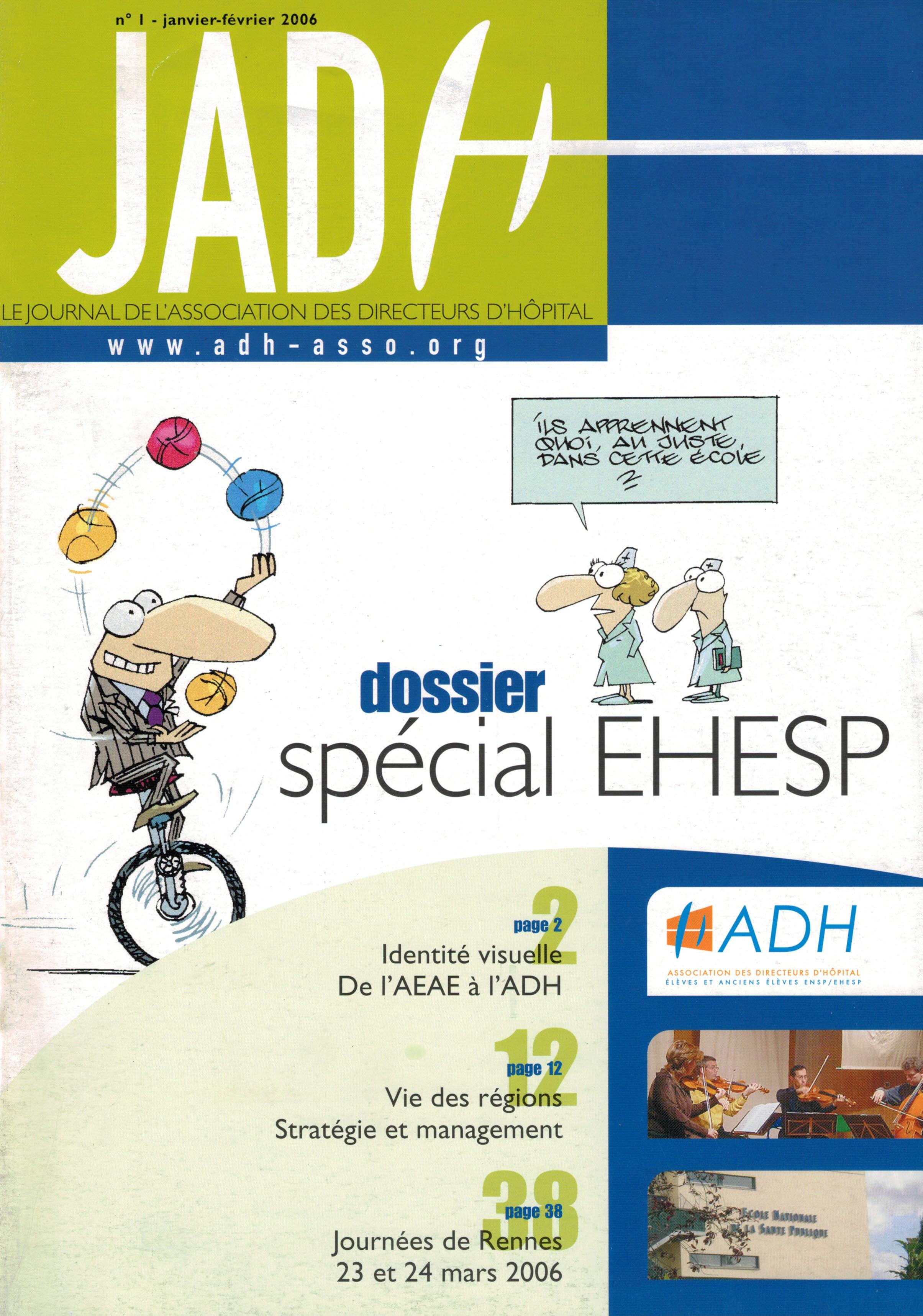 JADH 1 – janvier/février 2006