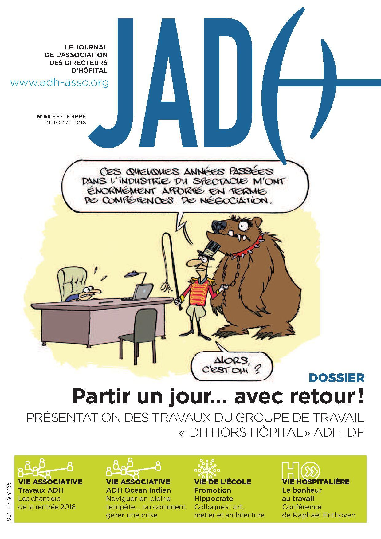 JADH 65 – septembre/octobre2016