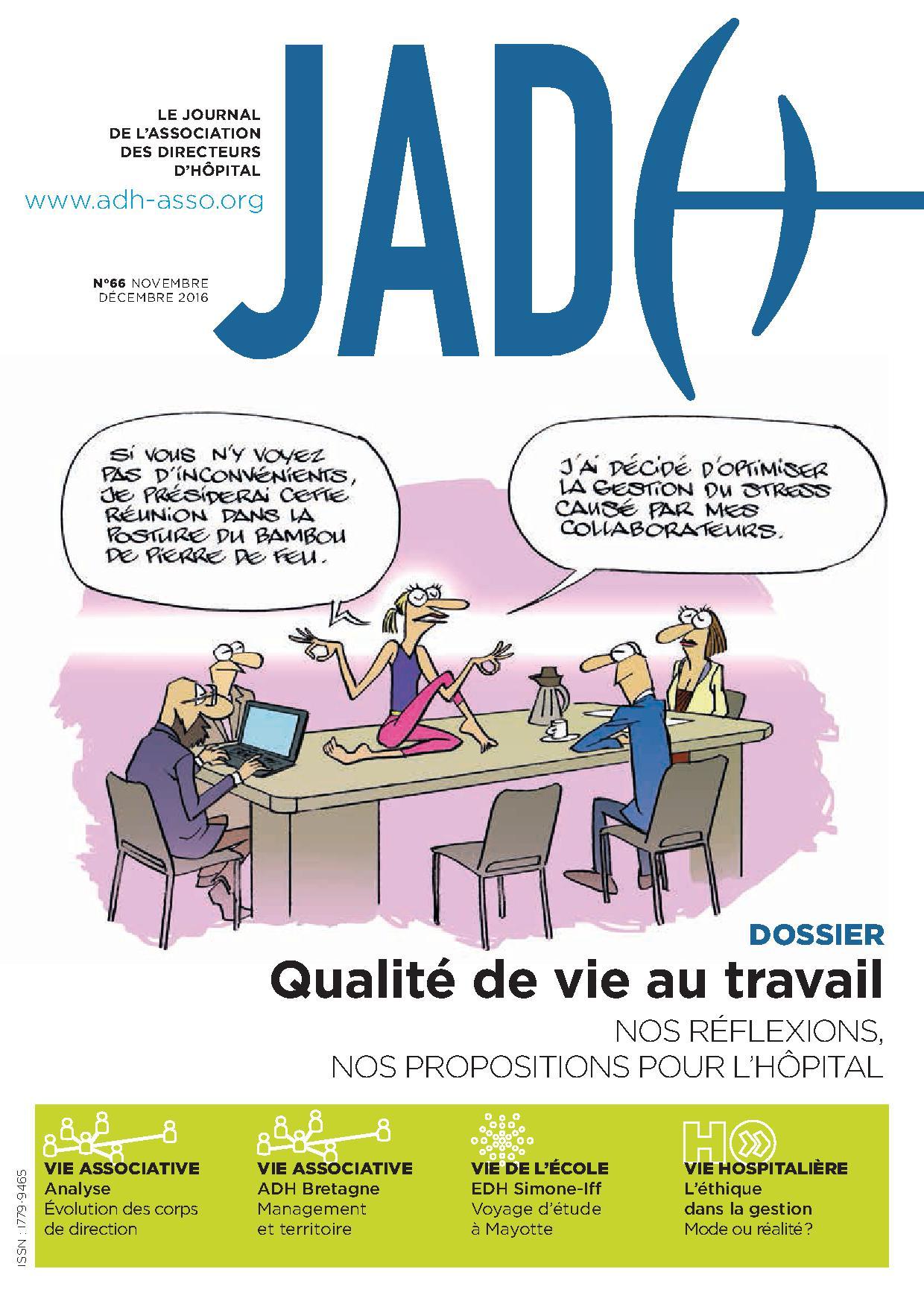 JADH 66 – novembre/décembre