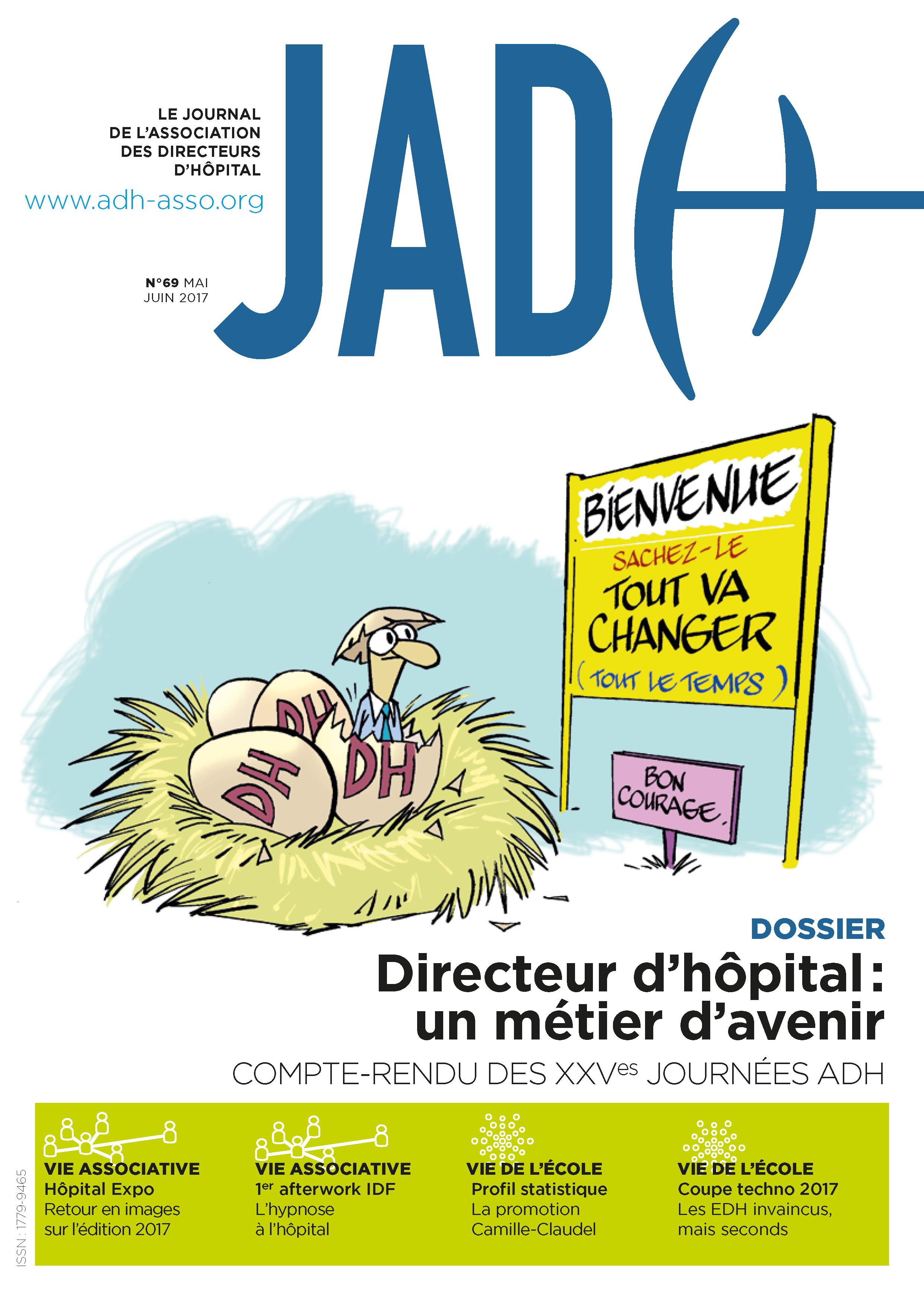 JADH 69 – mai/juin 2017