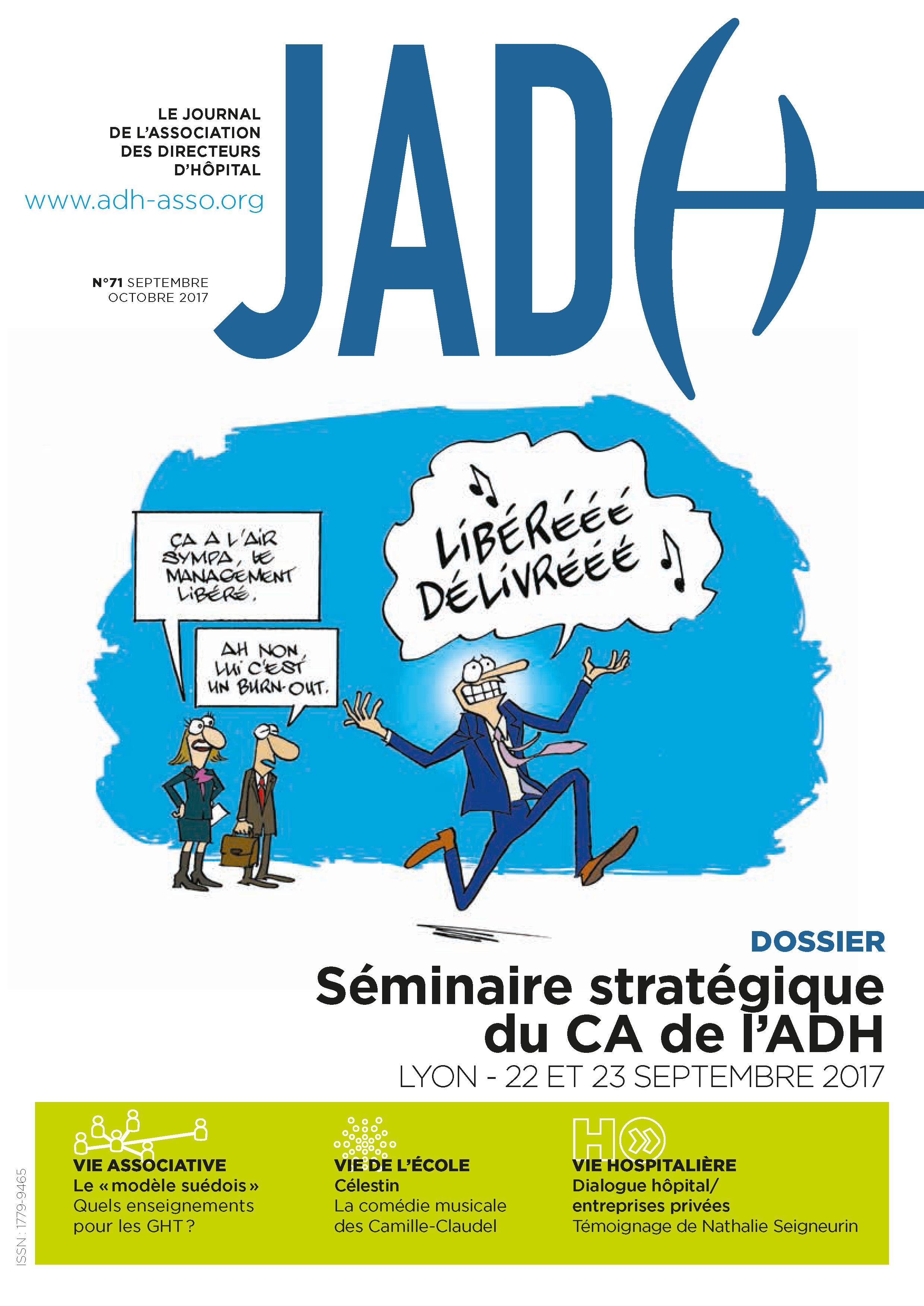 JADH 71 – septembre/octobre 2017
