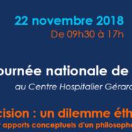 Journée nationale de réflexion éthique ADH