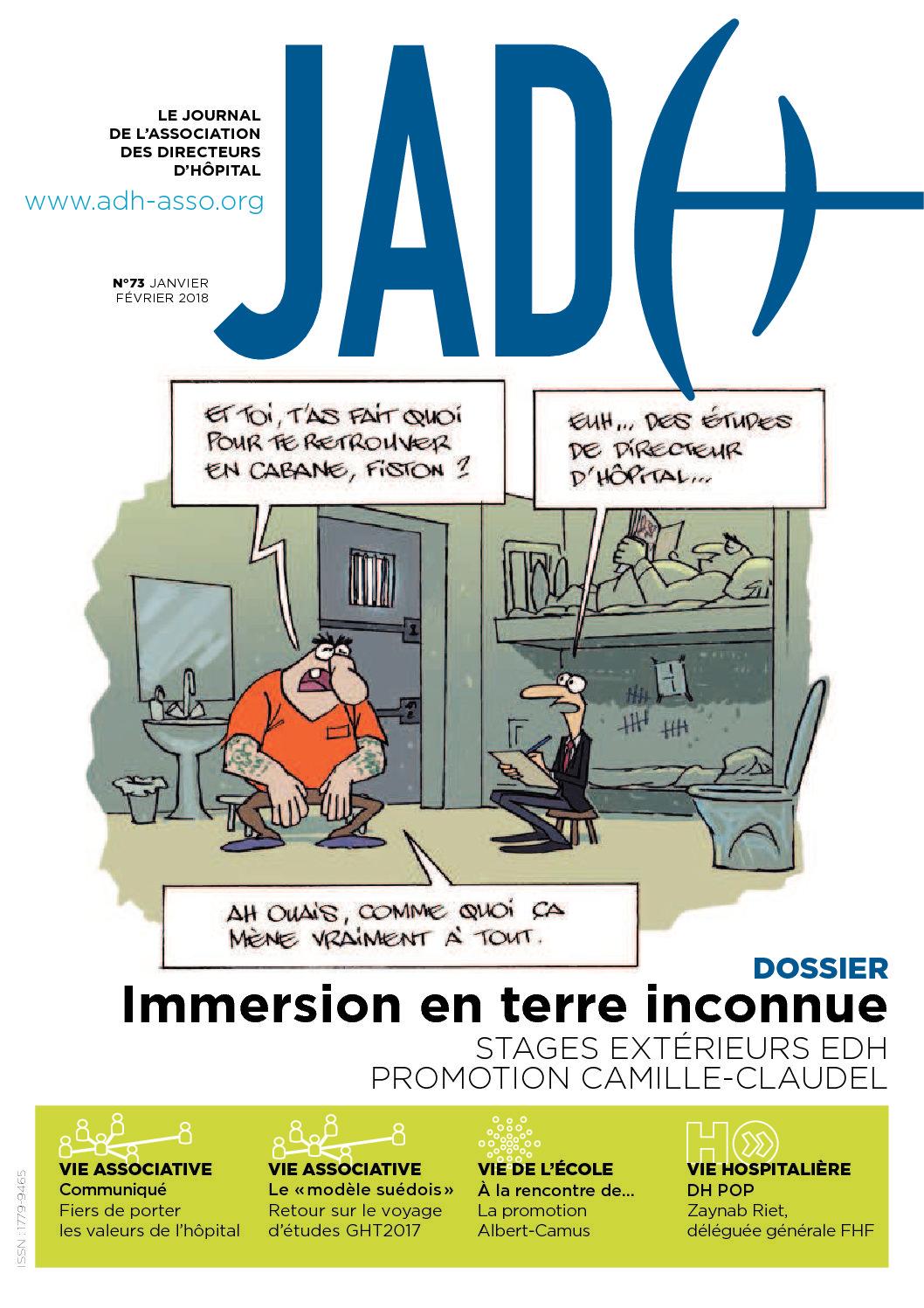 JADH 73 – janvier/février 2018