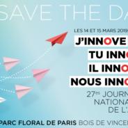 A vos agendas – 27èmes Journées nationales de l'ADH – les 14 et 15 mars 2019