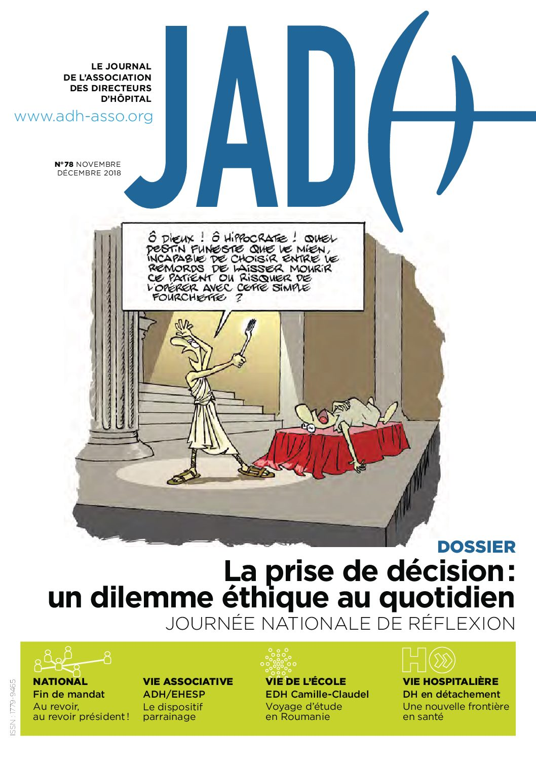 JADH 78 – novembre/décembre 2018