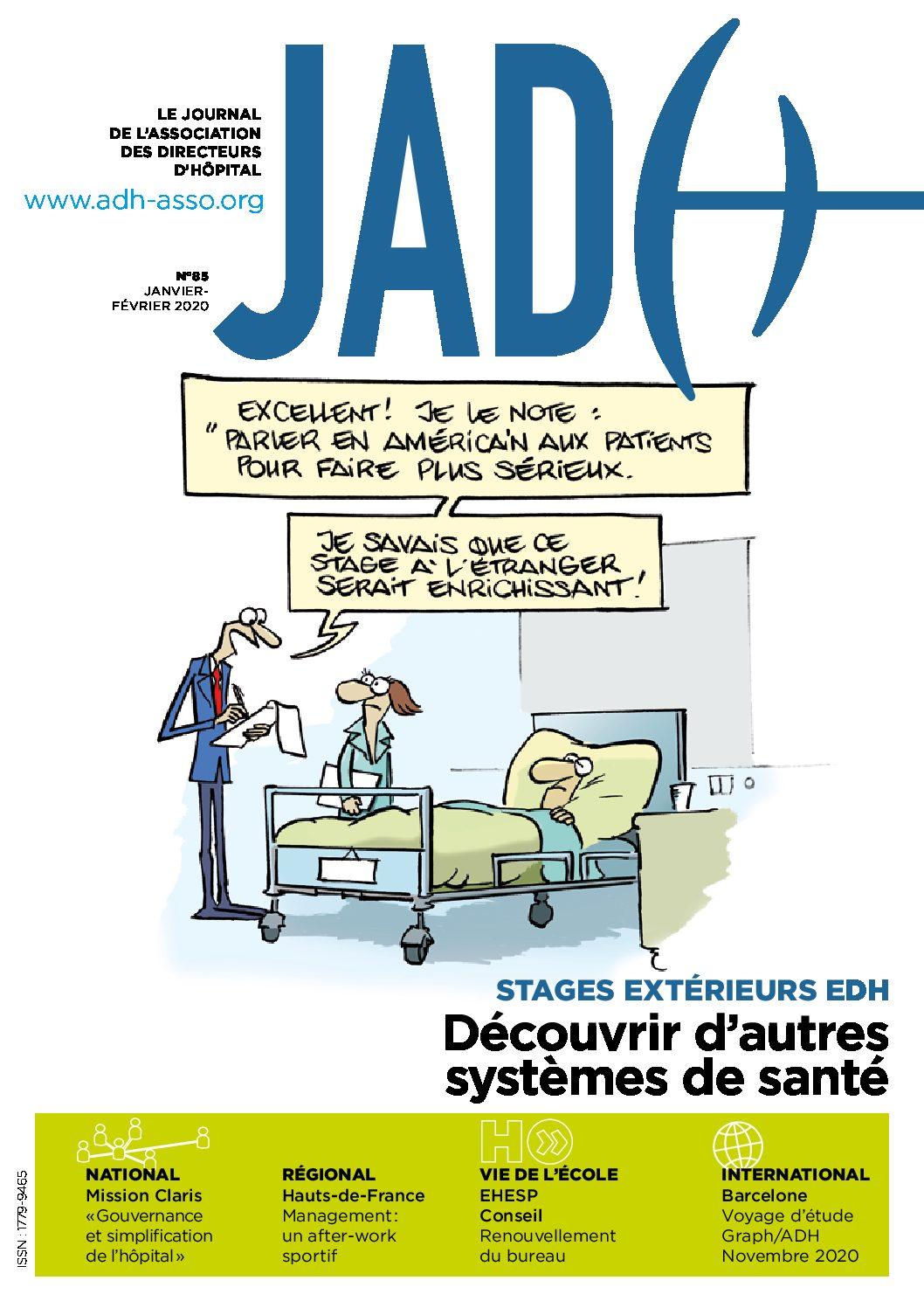 JADH 85 – janvier/février 2020