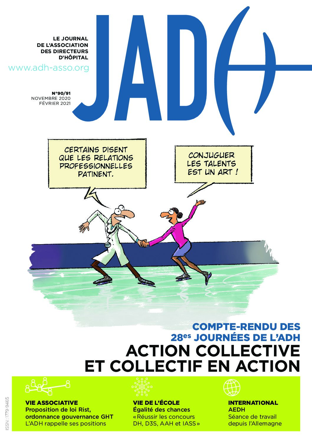 JADH 90/91 novembre/février 2021