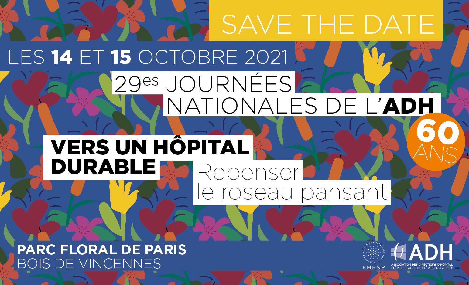 Journées nationales 2021: les 14 et 15 octobre!