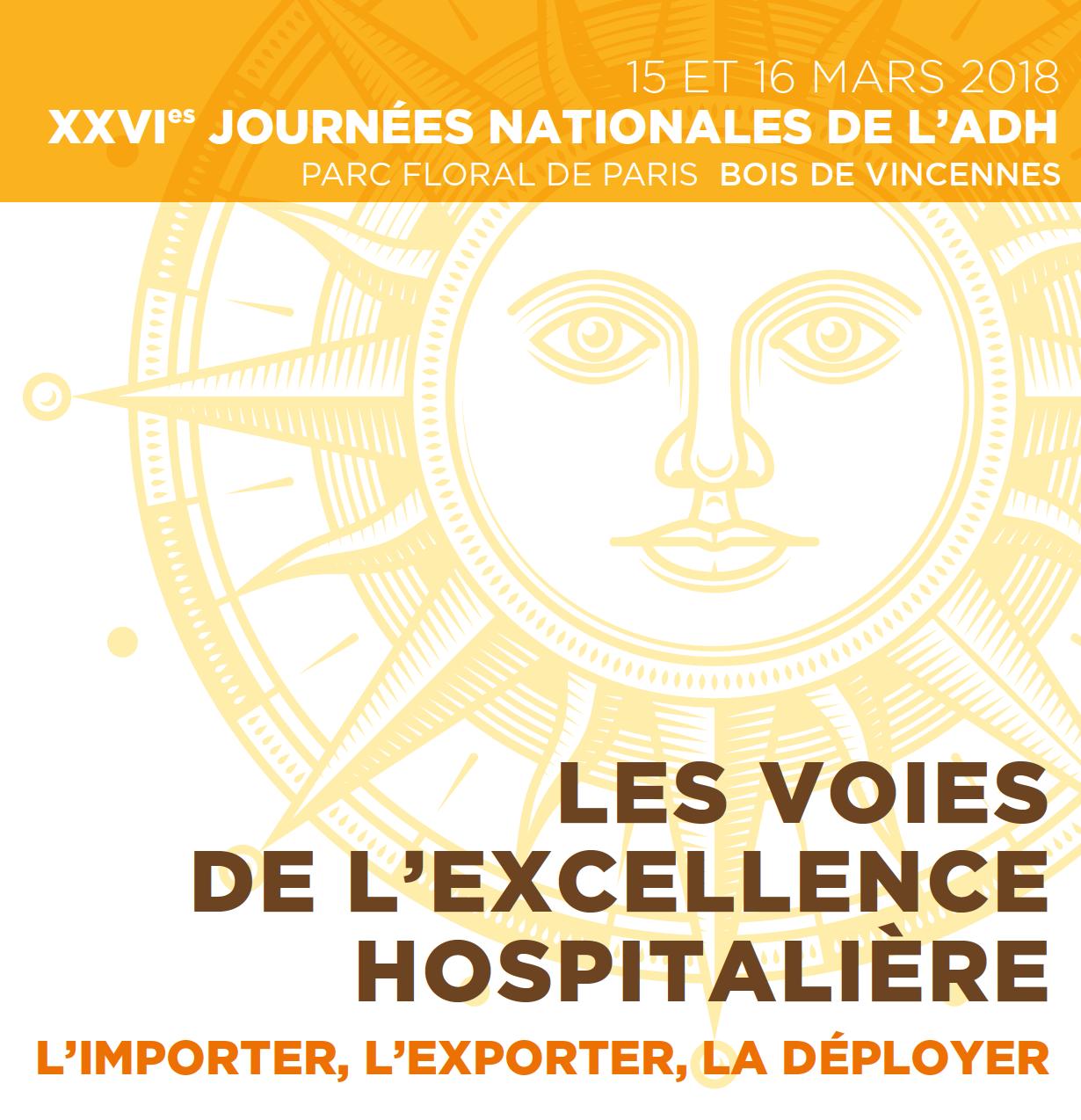 26es journées nationales de l'ADH: les inscriptions sont ouvertes!