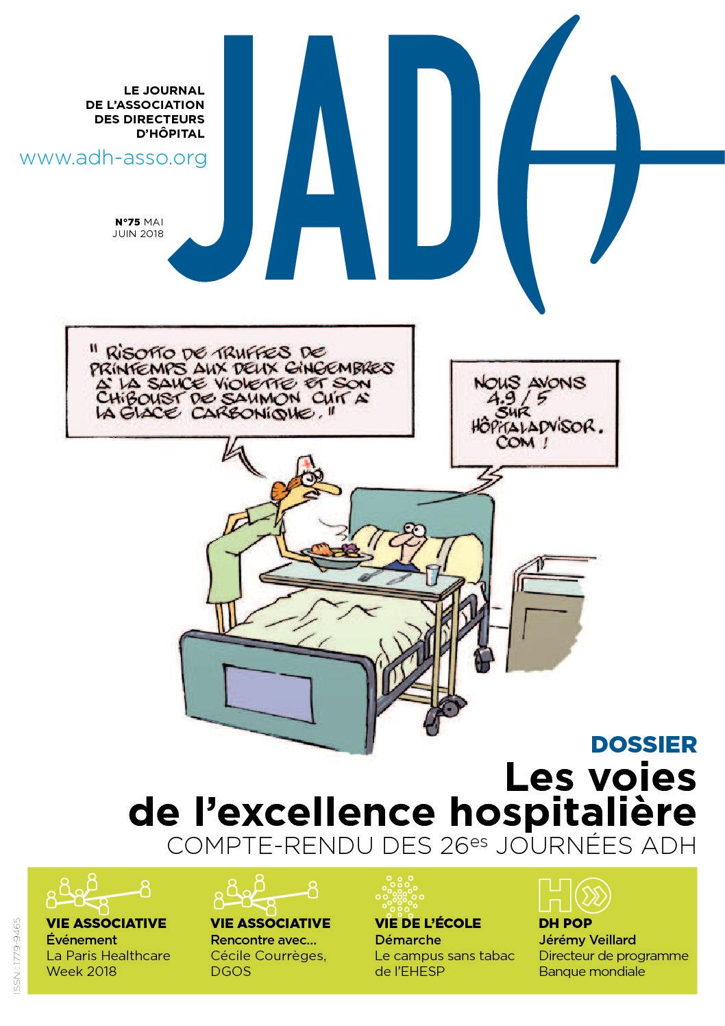 JADH 75 – mai/juin 2018
