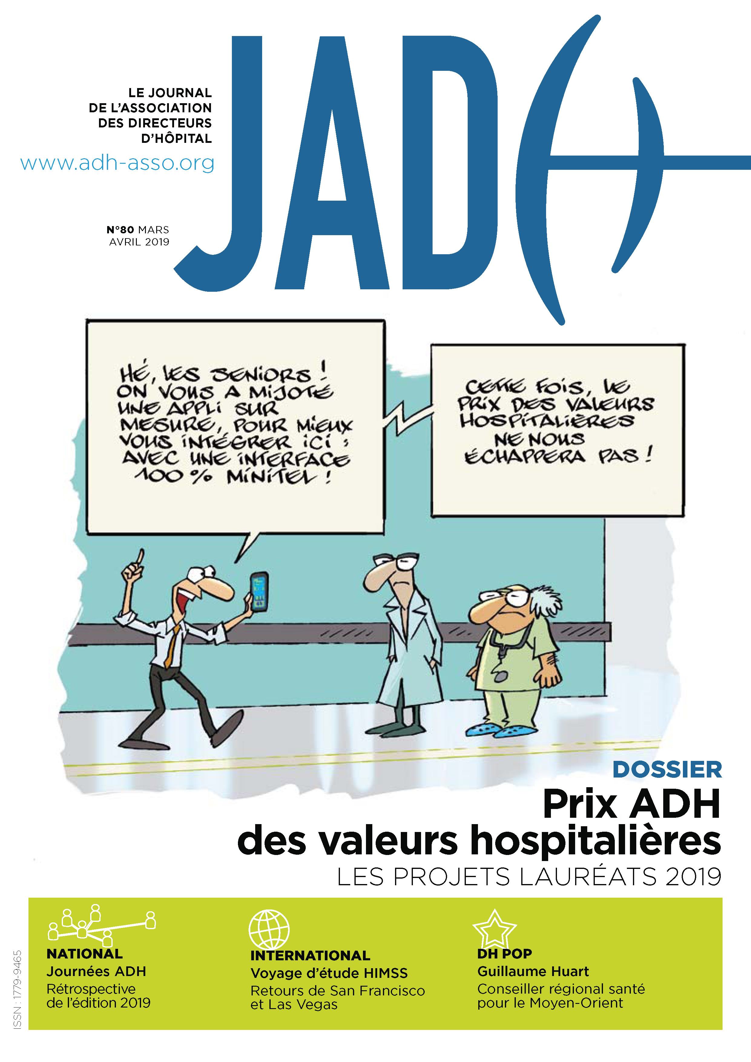 JADH 80 – mars/avril 2019