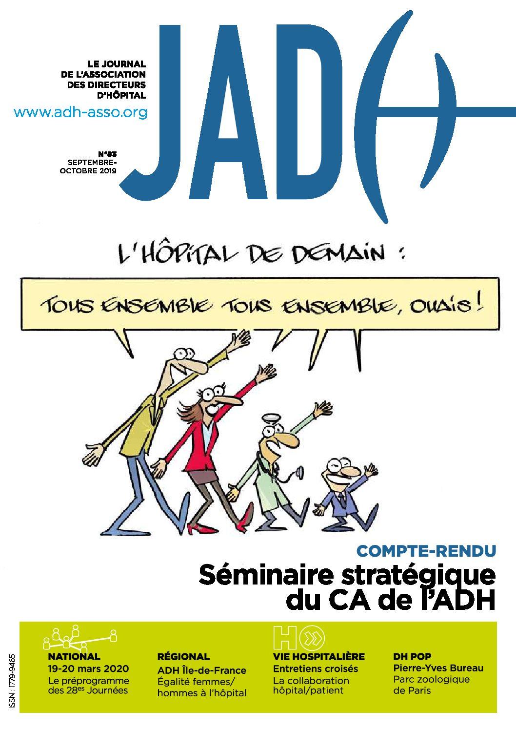 JADH 83 septembre/octobre 2019