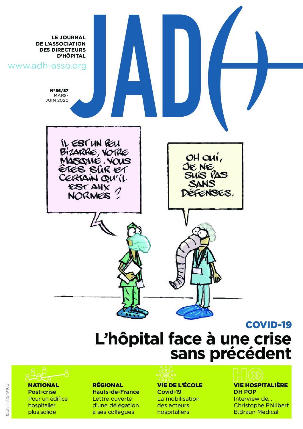 JADH 86 – mars/juin 2020