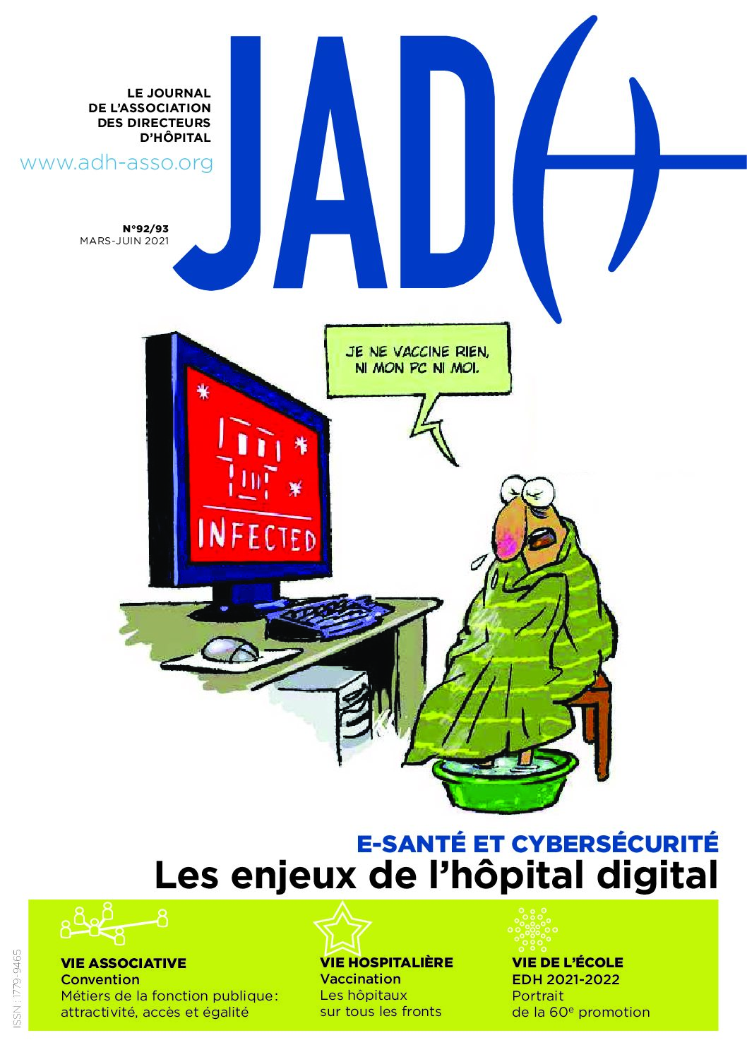 JADH 92/93 mars/juin 2021